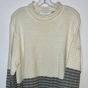 Elizabeth by Liz Claiborne multi colored sweater